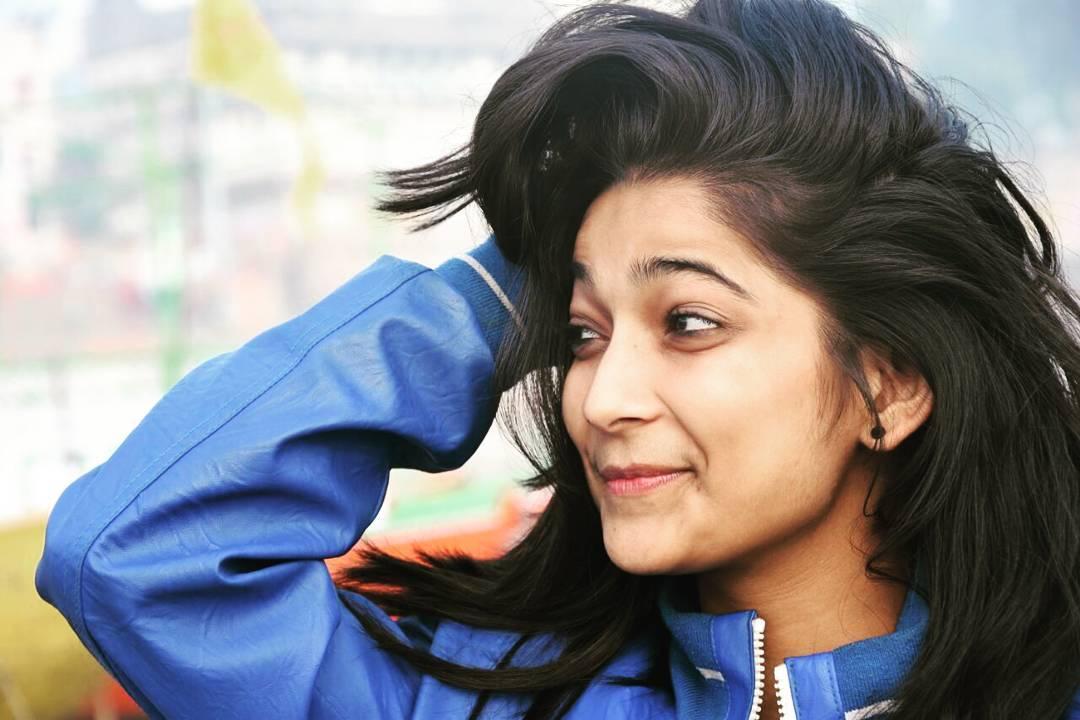 Vartika Jha Cute smile